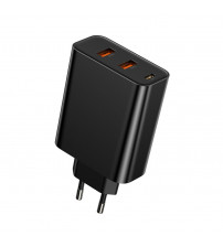 Incarcator Baseus Speed PPS, Quick Charger 60W, PD, Type-C + USB, Negru