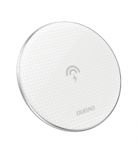 Incarcator wireless Dudao Stylish Ultra Slim A10B, Qi 10W, White