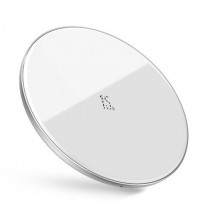 Incarcator wireless Qi 15W Baseus Simple, White