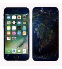 Skin cu aspect modern pentru iPhone 7 - Space
