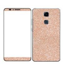 Skin fashion GLITTER pentru Huawei Ascend Mate 7 - Gold