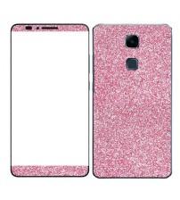 Skin fashion GLITTER pentru Huawei Ascend Mate 7 - Pink