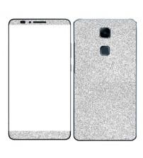 Skin fashion GLITTER pentru Huawei Ascend Mate 7 - Silver