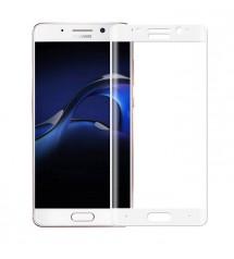Folie protectie sticla securizata Huawei Mate 9 Pro 3d  White