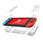 Husa de protectie rigida Ultra SLIM pentru Nintendo Switch, Transparenta