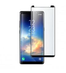 Folie protectie sticla securizata Samsung Galaxy Note 8, 3D Black, FULL GLUE