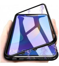 Husa Xiaomi Mi 8 Lite Magnetic, Clear-Black