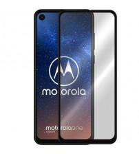 Folie sticla securizata tempered glass Motorola One Vision, Black