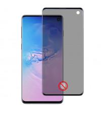 Folie protectie PRIVACY sticla securizata Samsung Galaxy S10 3D Black