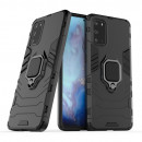 Husa Samsung Galaxy S20 Plus Magnet Slim Ring, Black
