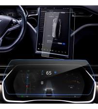 Set folii sticla securizata tempered glass Tesla Model X