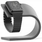 Stand suport incarcare Aluminium pentru Apple Watch, Dark Grey