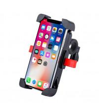Suport ajustabil telefon pentru biciclete / trotinete, Negru