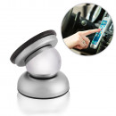 Suport auto magnetic dublu adeziv, Silver