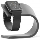 Suport incarcare Aluminium pentru Apple Watch, Dark Grey