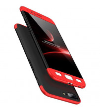 Husa OnePlus 5 GKK Full Cover 360, Black-Red